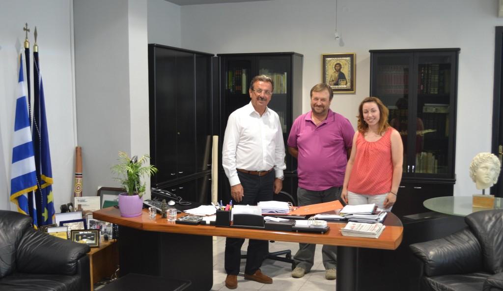 Αντιπεριφερειάρχης-Εκπρόσωποι  Αγρ. Συνεταιρισμού Φλαμουριάς