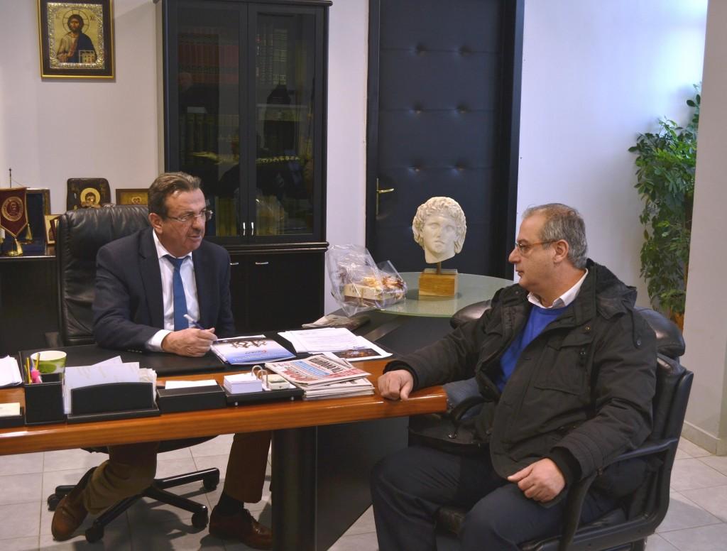 Αντιπεριφερειάρχης Θ. Θεοδωρίδης - Υπ Βουλευτής Γ. Σηφάκης