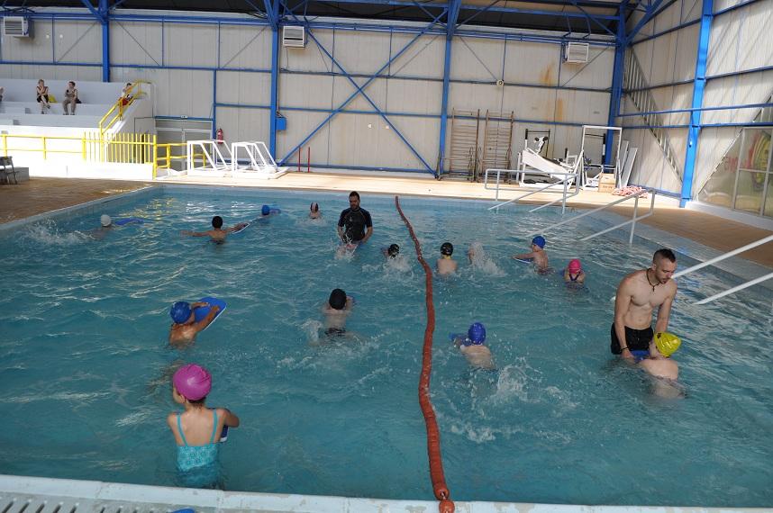 εκμαθηση κολύμβησης